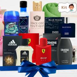 Kit Perfumes Amaderado Masculino