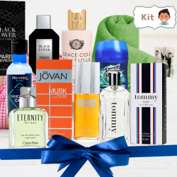 Kit Perfumes Aquático Masculino
